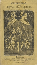 The history of Cinderella, or, The little glass slipper
