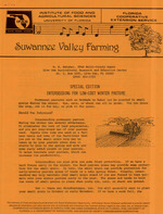 Suwannee Valley farming