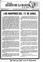 7 días del Diario de la marina en el exilio