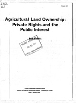 Agricultural land ownership