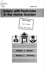 Safety with pesticides in the home garden