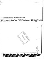 Summary guide to Florida's water rights
