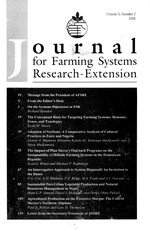 Journal of farming systems research-extension