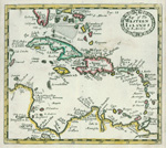 A map of the Western islands