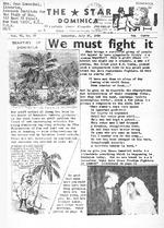 Star (Roseau, Dominica). July 27, 1968.