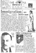 Star (Roseau, Dominica). February 27, 1971.