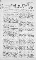 Star (Roseau, Dominica). June 24, 1977.