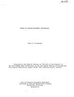 Toward an agrosocioeconomic methodology