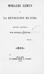 Morales Lemus y la revolución de Cuba
