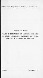 Viajes y estancias en America del Sur