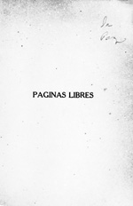 Páginas libres