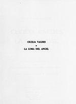 Cecilia Valdes o, La Loma del Angel