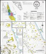 Insurance maps of Cocoa, Florida