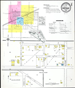 Insurance maps of Hastings, Florida