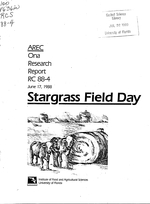 Stargrass field day