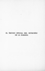 El escudo oficial del municipio de la Habana