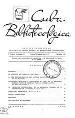 Cuba bibliotecológica