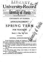 University record
