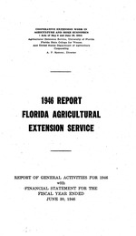 Report Florida agricultural extension service