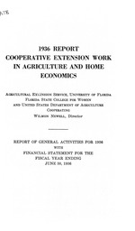Cooperative extension work in agriculture and home economics