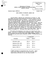 Aphid control on eggplant, winter 1984