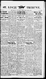 The St. Lucie County tribune