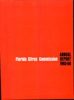 Annual report - Florida Citrus Commission