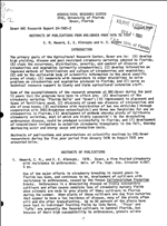 Abstracts of publications from ARC-Dover from 1976 to 1981