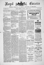 The Royal gazette, Bermuda commercial and general advertiser and recorder