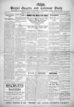 Royal gazette and colonist daily