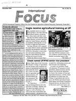 International focus. Vol. 15. No. 12.