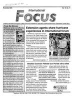 International focus. Vol. 15. No. 1.