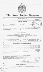 The West Indies gazette