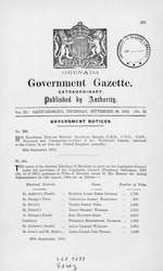 Government gazette