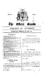 The official gazette