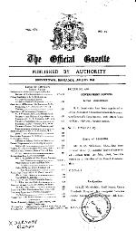 The official gazette