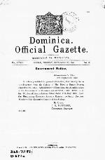 Official gazette - Dominica