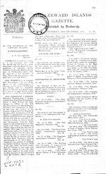 The Leeward Islands gazette.