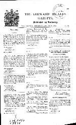 Leeward Islands gazette