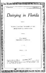 Florida quarterly bulletin of the Department of Agriculture. Vol. 32. No. 2.
