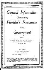 Florida quarterly bulletin of the Department of Agriculture