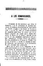 A los dominicanos