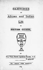 Sketches of African and Indian life in British Guiana
