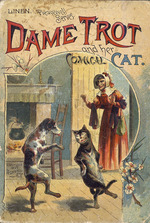 Dame Trot and her comical cat