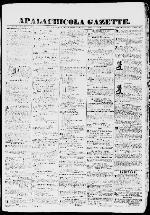 Apalachicola gazette