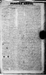 Florida Argus, and Pensacola literary, agricultural & commercial register