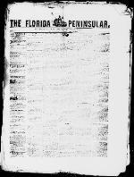 The Florida peninsular