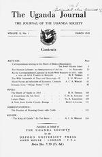 The Uganda journal