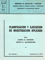 Planificacion y ejecucion de investigacion aplicada