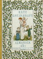 Kate Greenaway's almanack for 1891